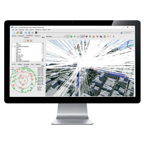 Software Sim3D per Simulatore GNSS