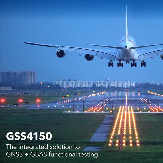 Simulatore integrato GNSS e GBAS  GSS4150