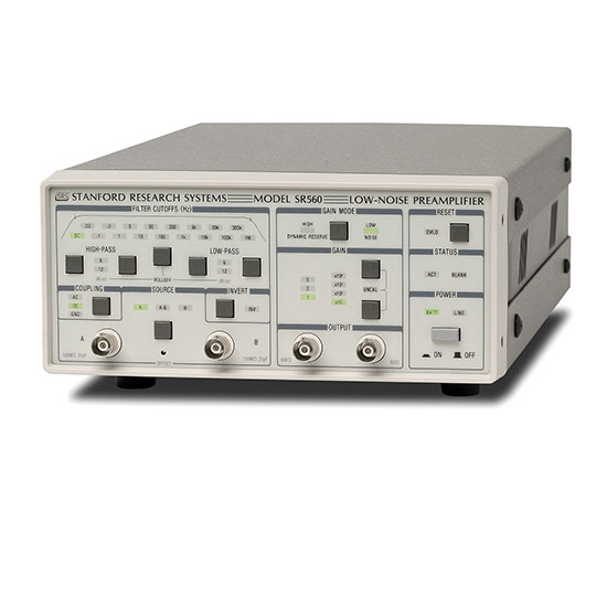 SR560 Preamplificatore di tensione basso rumore